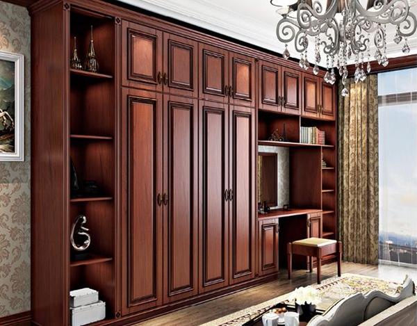 中式风格衣柜定制