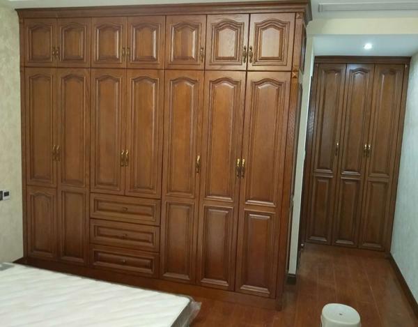 实木衣柜定制案例